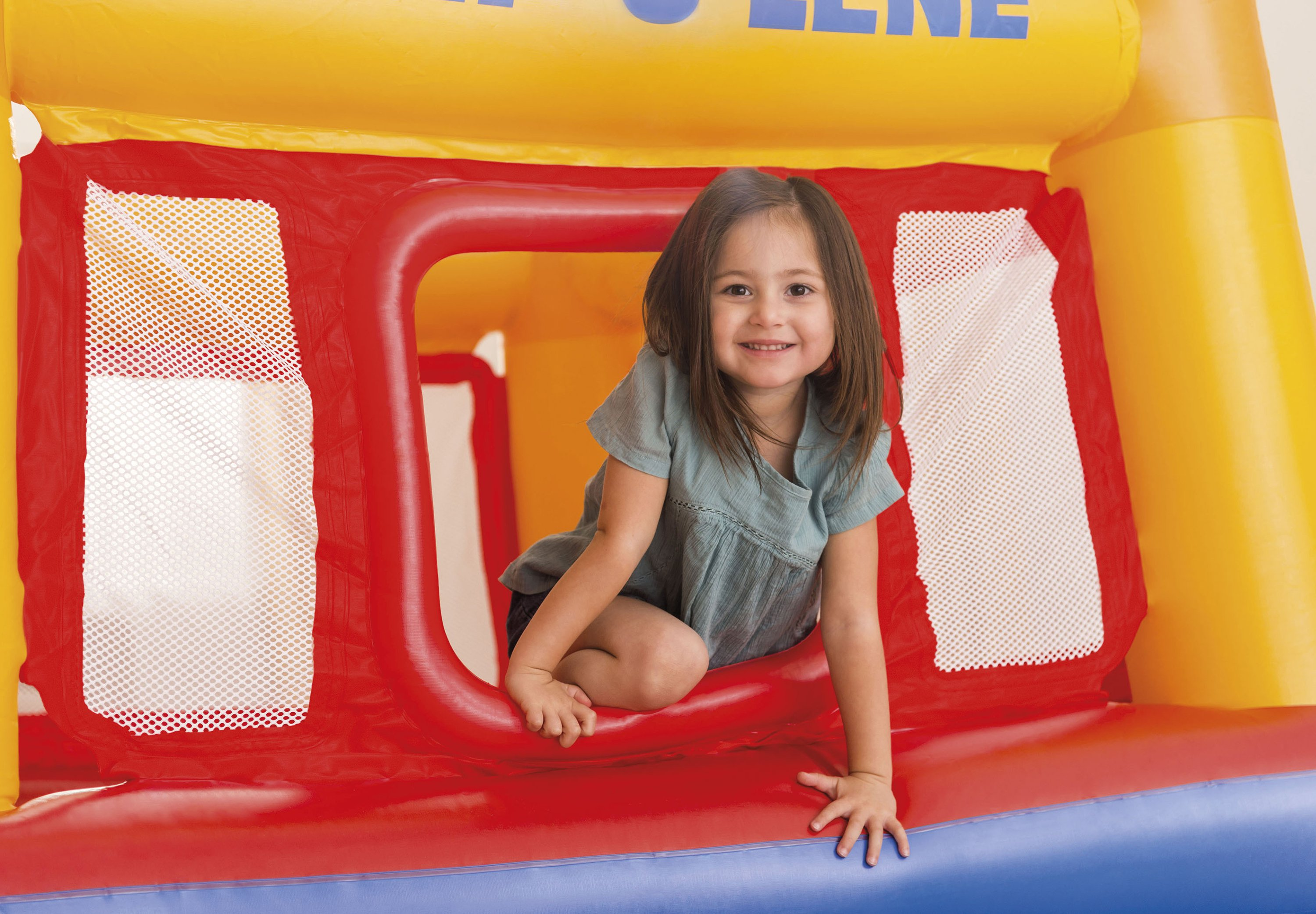 008b0c97b Intex Inflatable Playhouse Jump-O-Lene Bouncer - Walmart.com