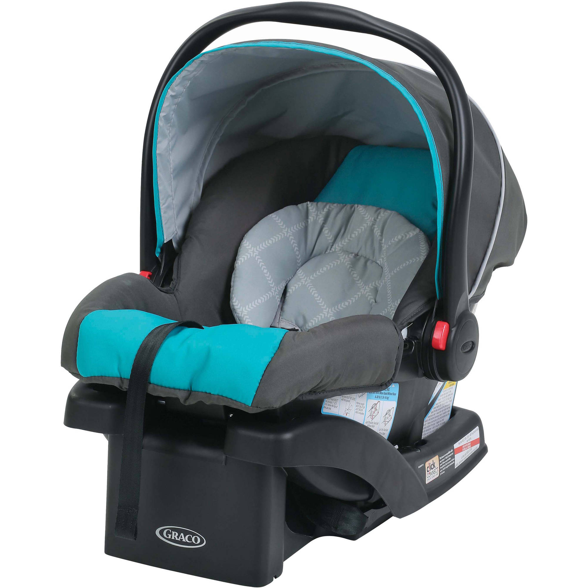 Graco SnugRide 30 Click Connect Infant Car Seat with Front Adjust, Finch