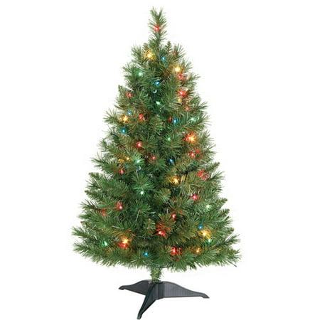 3ft Pre Lit Christmas Tree