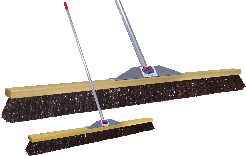 "48"" Maroon Poly Super Sweeper Broom by Super Sweep Inc."