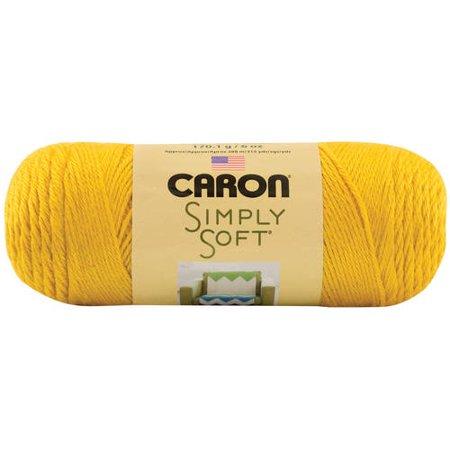 Caron Simply Soft Yarn, Gold