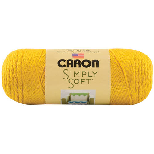 Simply Soft Yarn Solids-Neon Orange