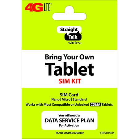 Straight Talk Tablet SIM - CDMA - Verizon
