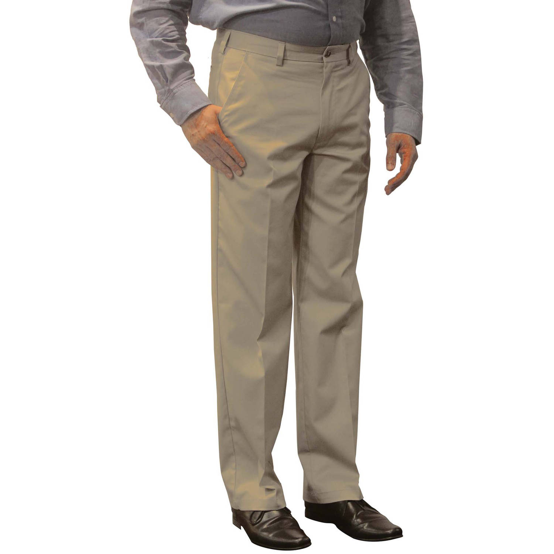 George - Men's Premium Flat Front Khaki Pants