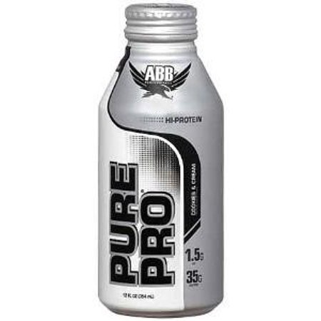 Image of American Bodybuilding Rtds Pure Pro 35, Cookies & Cream, 12 Oz