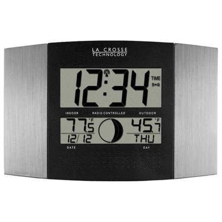 - La Crosse Technology Digital Atomic Wall Clock