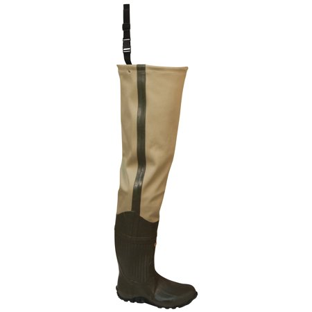 Frogg Toggs Cascades 2-ply Poly/Rubber Hip Wader (Cleated)
