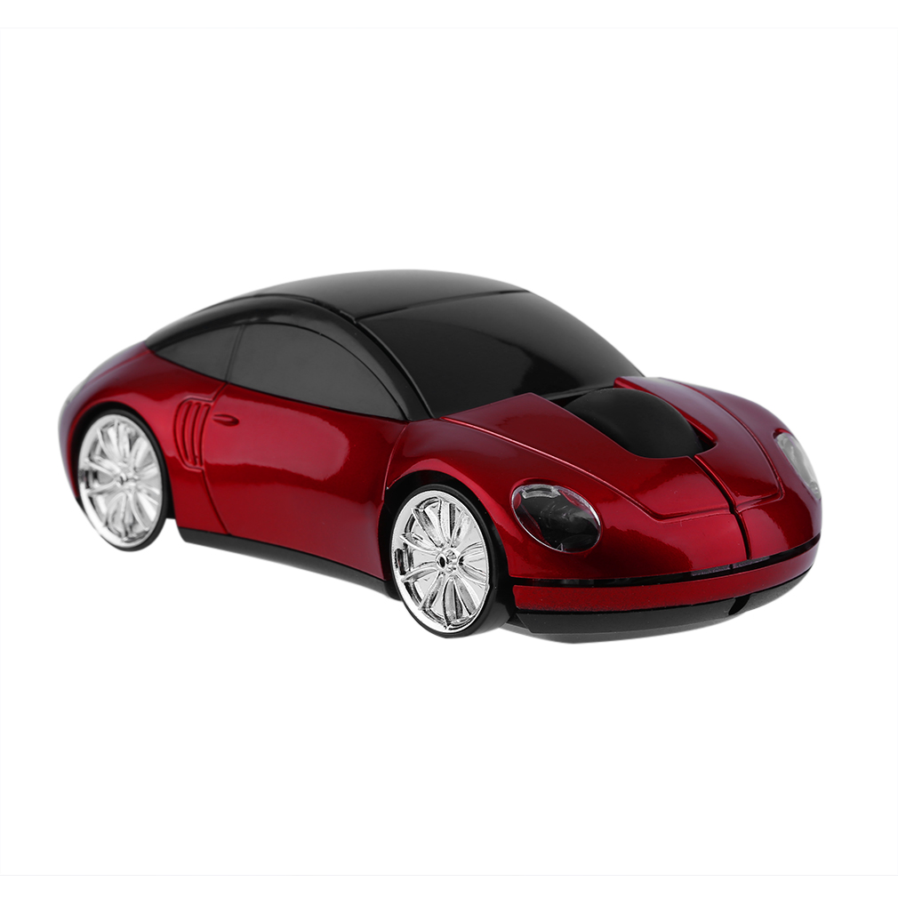 Creative 2.4GHZ Wireless Car Shape Mouse 1600DPI Wireless Optical Mouse Mice