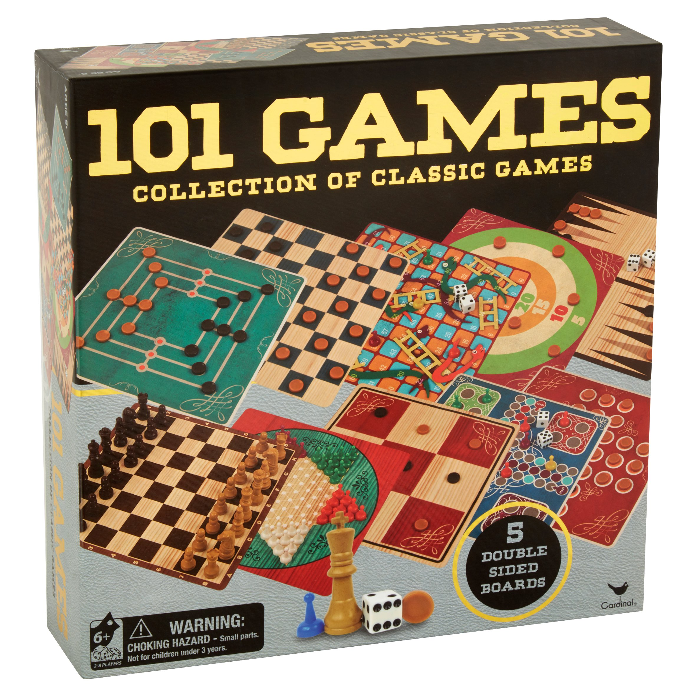 Cardinal 101 Games Collection Of Classic Ages 6