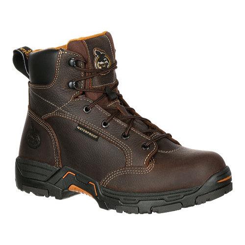 "Men's Georgia Boot GB00090 6"" DT Insul Hiker Waterproof Work Boot by Georgia Boot"