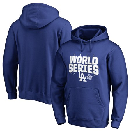Los Angeles Choppers Risers (Los Angeles Dodgers Fanatics Branded 2017 World Series Bound Chopper Pullover Hoodie - Royal )