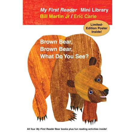 Reader Poster (Bear Book Readers Paperback Boxed Set : All Four My First Reader Bear Books, plus Fun Reading Activities and Limited-Edition)