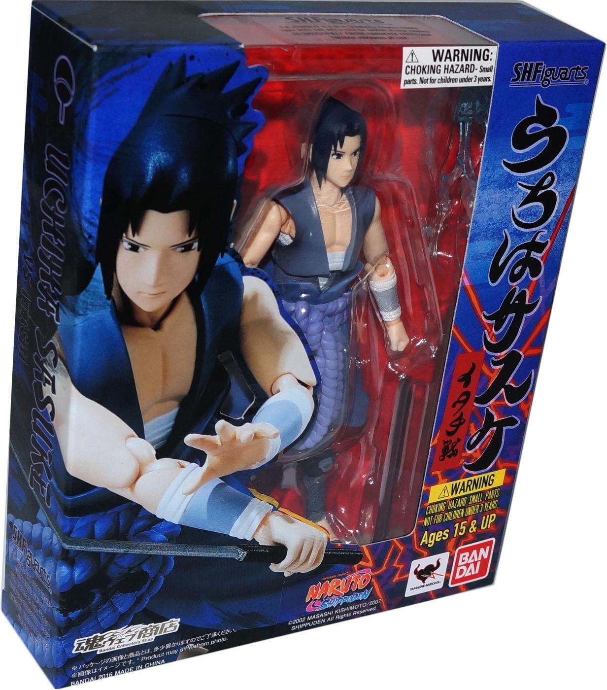 Naruto Shippuden: Sasuke Uchiha (Itachi Battle) S.H. Figuarts Action Figure by Naruto