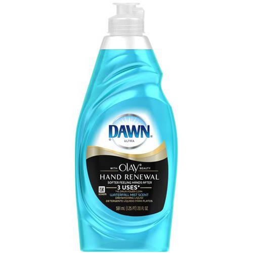 Dawn Ultra Hand Renewal with Olay Beauty Waterfall Mist Scent Dishwashing Liquid, 20 fl oz