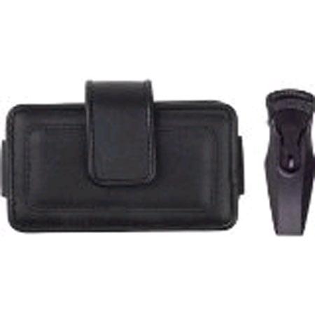 Horizontal Leather Pouch for Blackberry Pearl Flip 8220/Casio C711 GzOne Boulder - Gzone C711 Boulder