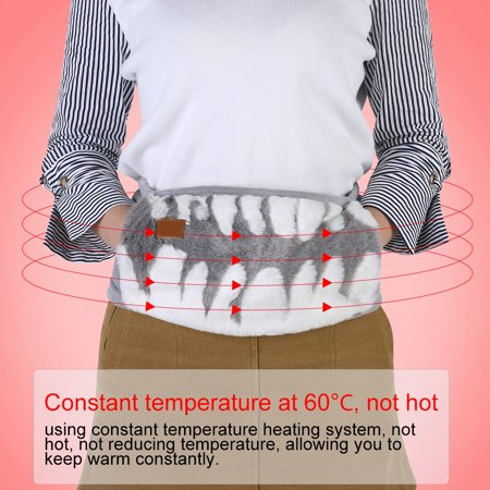 Yosoo Heated Waist Belt, Hot and Cold Therapy Constant Temperature Heating with Carbon Fiber, Lower - image 1 de 8