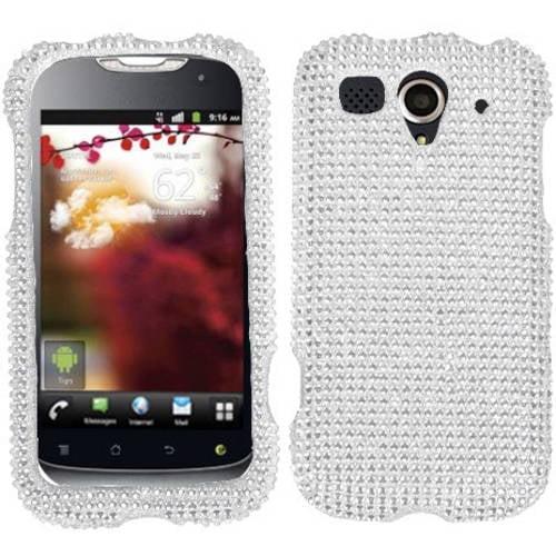 Huawei U8680 MyTouch MyBat Protector Case, Silver Diamante