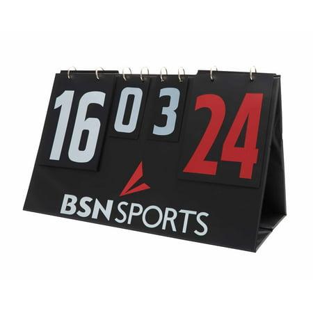 Diy Scoreboard (BSN SPORTS™ Manual Tabletop Double Sided)