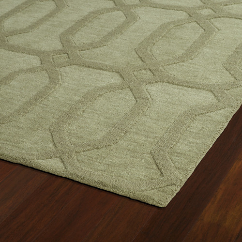 Kaleen Imprints Modern Handmade Sage Area Rug