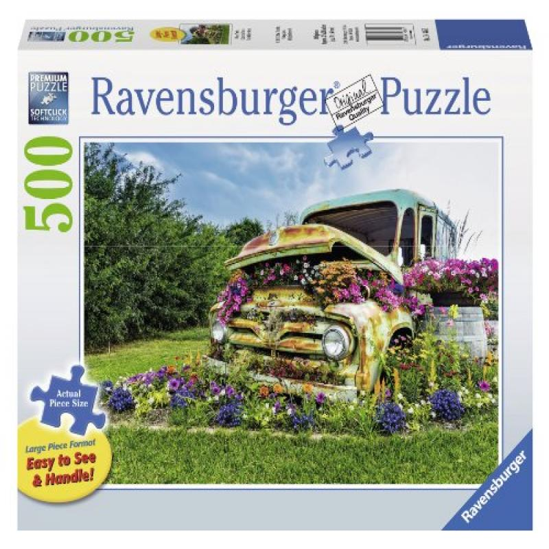 Ravensburger Flower Truck Large Format Jigsaw Puzzle (500-Piece) by