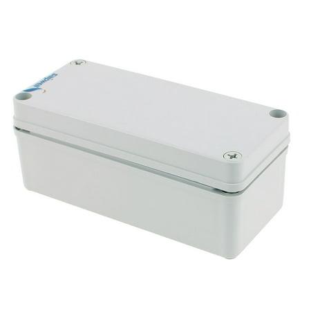 Unique Bargains 180 X 80 X 73Mm Waterproof Junction Box Diy Terminal Connecting Box Enclosure
