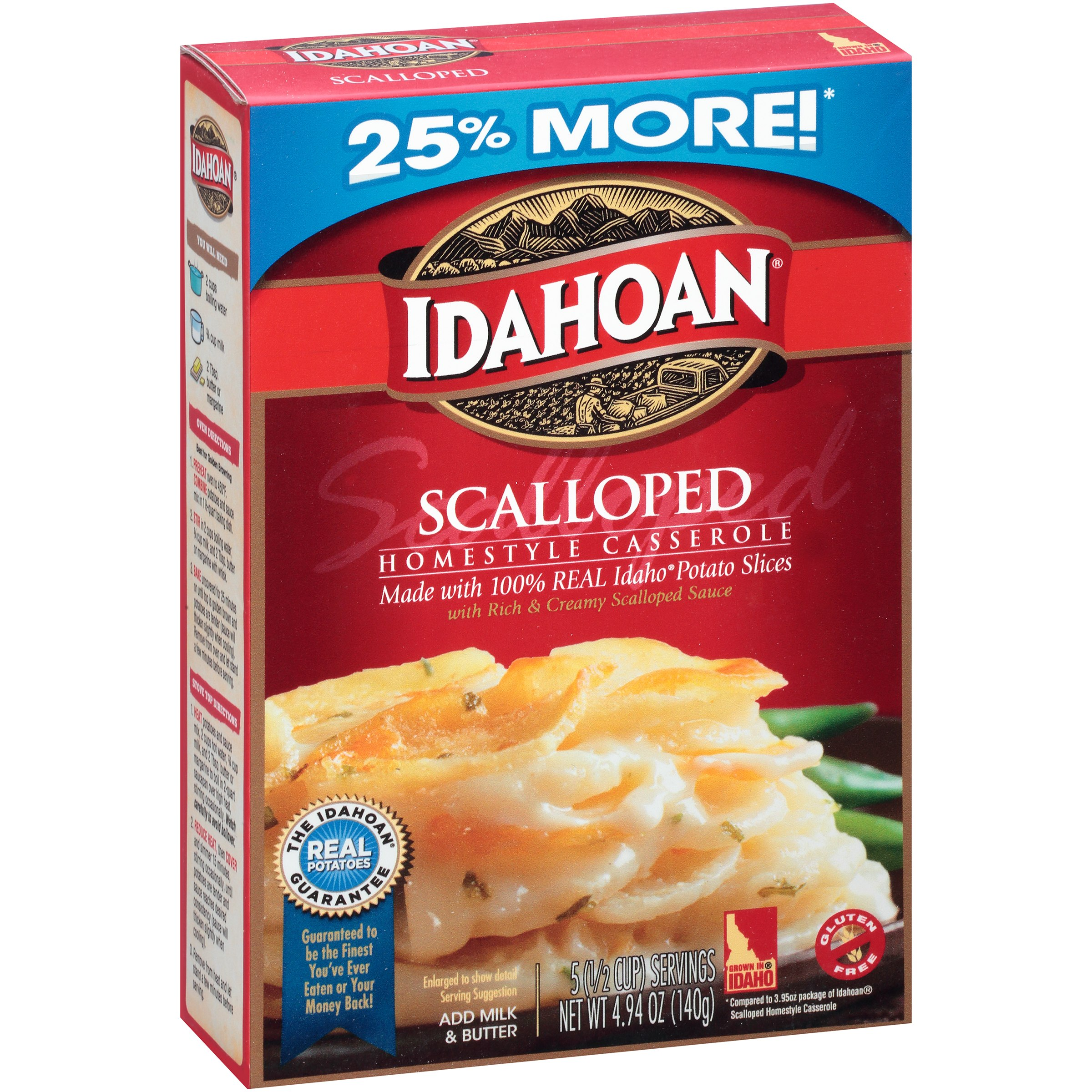 Idahoan Scalloped Homestyle Casserole, 4.94 oz by Idahoan Foods, LLC