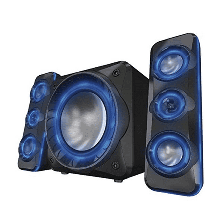 Sylvania (SHTIB1060-BT) SHTIB1060-BT Light Up Bluetooth 2.1 Speaker System - Manufacturer Refurbished