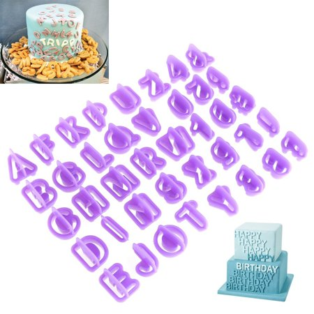 40pcs/Set Icing Cutter Mold Mould Alphabet Number Letter ...