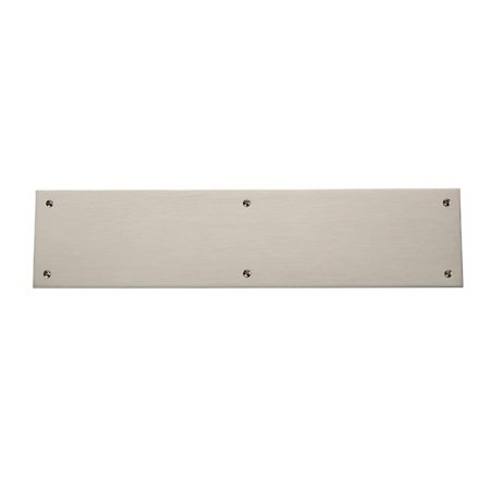 3.5 x 15 in. Square Edge Push Plate, Satin Nickel - image 1 of 1
