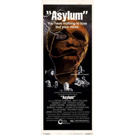 Asylum POSTER Movie Insert A (14x36)