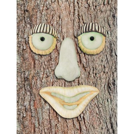 Red Carpet Studios LTD Tree Face Glow in the Dark Man with Big Nose Wall D cor (Set of