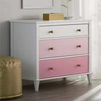 Little Seeds Monarch Hill Poppy 3-Drawer Dresser, Choose Color