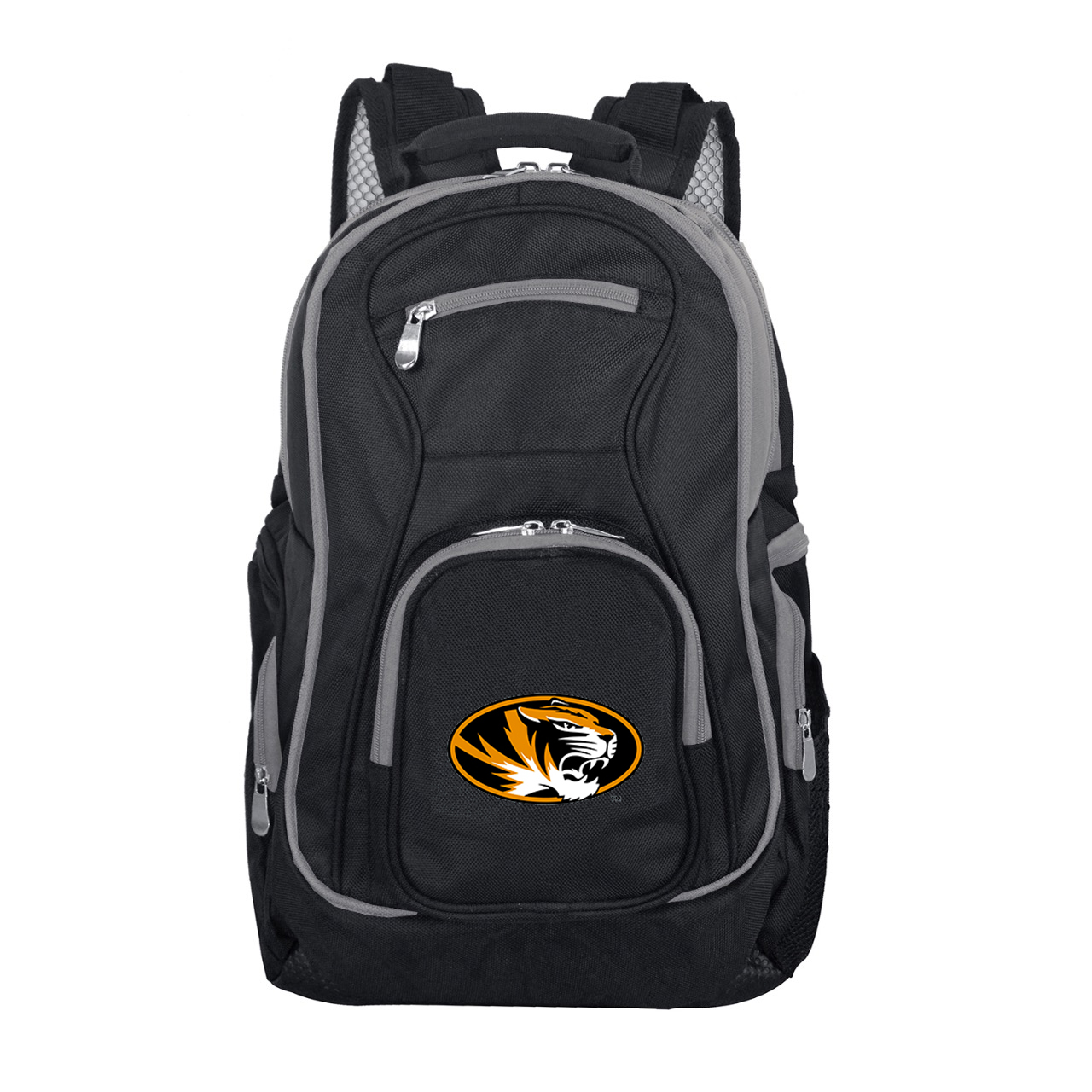 NCAA Missouri Tigers Premium Laptop Backpack with Colored Trim