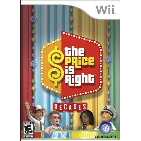 (Nintedno Wii) THE PRICE IS RIGHT DECADES