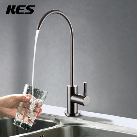 Kes Lead Free Beverage Faucet Drinking Water Filtration System 1 4 Inch