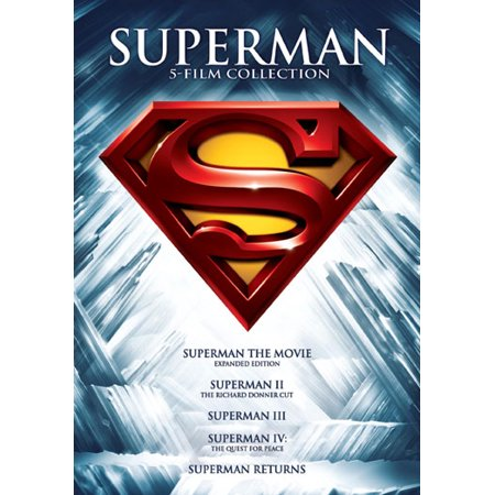 Mc-superman 5 Film Collection [dvd/5 Disc/superman 1-2-3-4&ret/wonder Woma] (Warner Home Video) - Halloween Film Characters Female