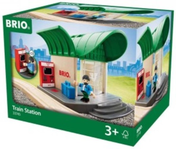 Train Station by Brio 33745 by Ravensburger