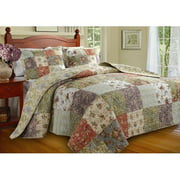 Greenland Home Fashions Blooming Prairie Bedspread Set, King
