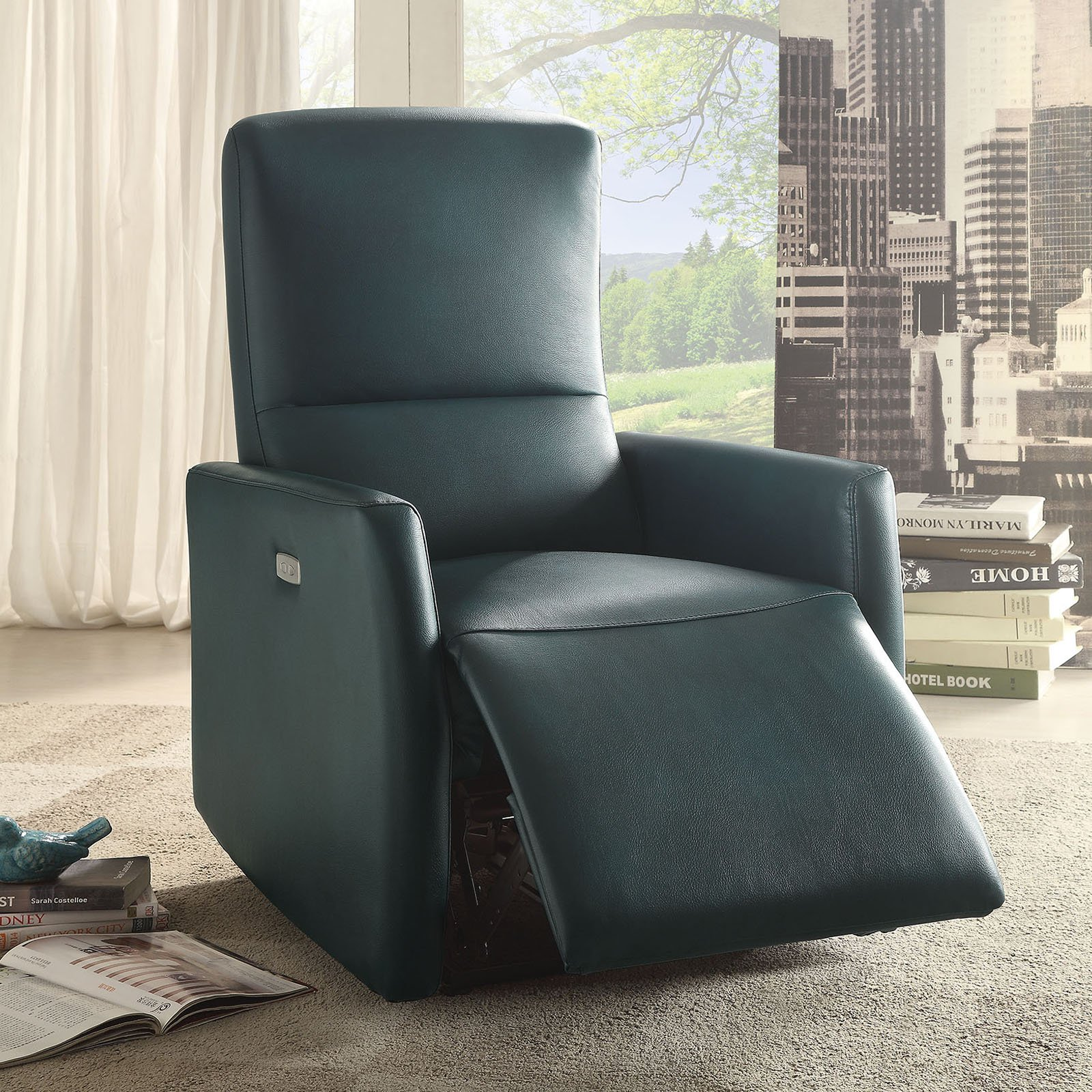 ACME Raff Power Motion Recliner, Multiple Colors