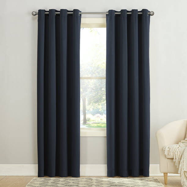 Sun Zero Madison Room Darkening Grommet Curtain Panel