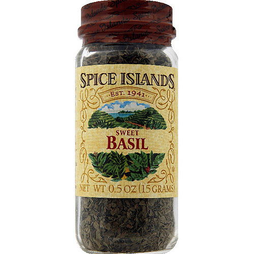 Spice Islands Sweet Basil, 0.5 oz (Pack of 3)