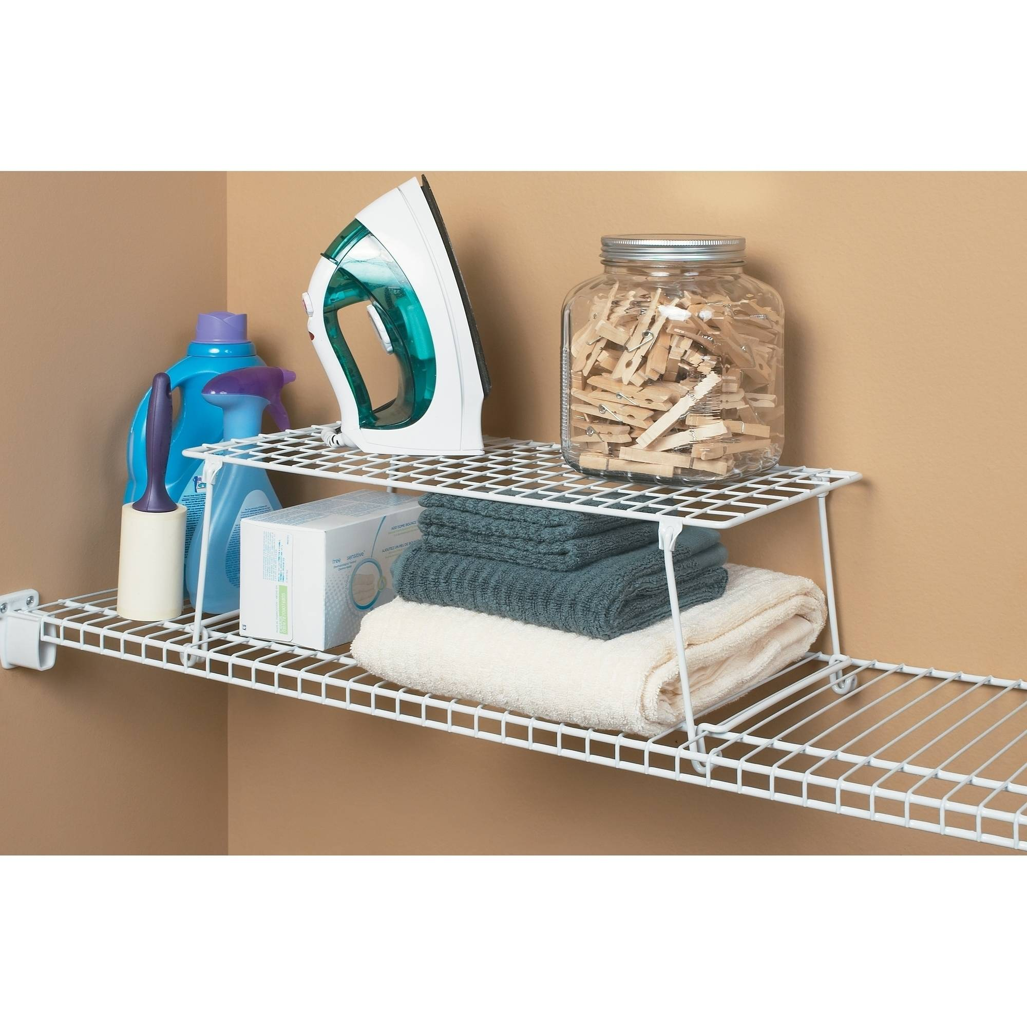 Closetmaid Stack And Hang Shelf White Walmart Com