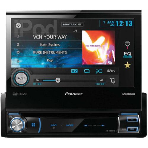 """Pioneer AVH-X6500DVD 7"""" Single-DIN In-Dash DVD A/V Receiver"""