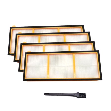 Vacuum Cleaner Parts 4PCS HEPA Filters and 1 Cleaning Tool for Shark ION Robot RV700 RV720 RV750 RV750C RV755 - image 1 of 6