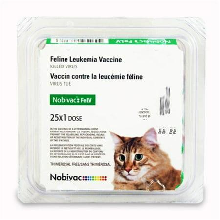 Intervet-Merck Animal Health 007SCH-1419-03 Nobivac Felv, 25 X 1 Dose