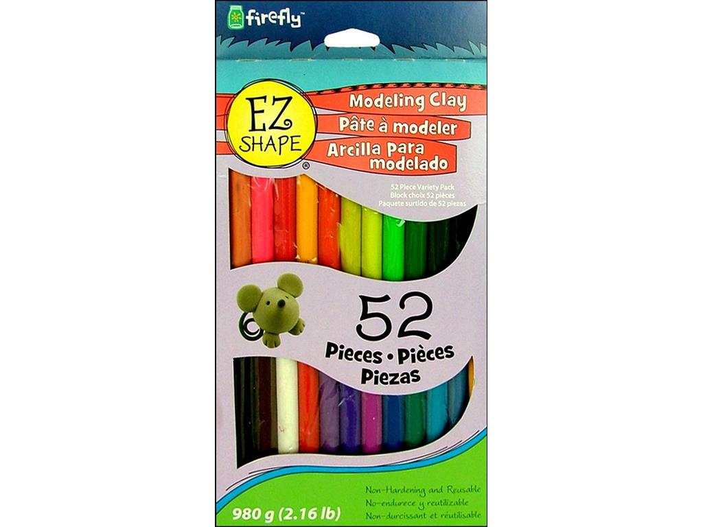 Polyform EZ Shape Modeling Clay Set 52pc by Polyform Products Co., Inc