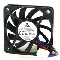 Delta 23-6010-01 60 x 60 x 10 mm. Ball Bearing Cooling Fan