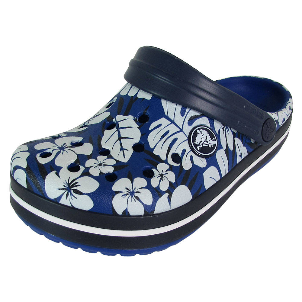 Crocs Crocband Tropical Print Clog Shoes by Crocs
