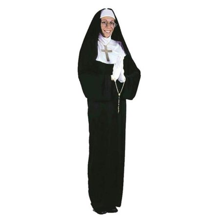 MorrisCostumes FW1190 Mother Superior, Plus Size](Mother Earth Costume)