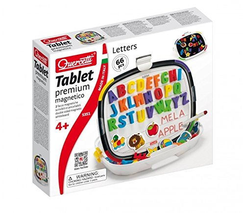 Magnetic Letter Tablet - 66 Pieces, EASY AS A, B, C: With...